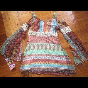 Multi colored printed blouse